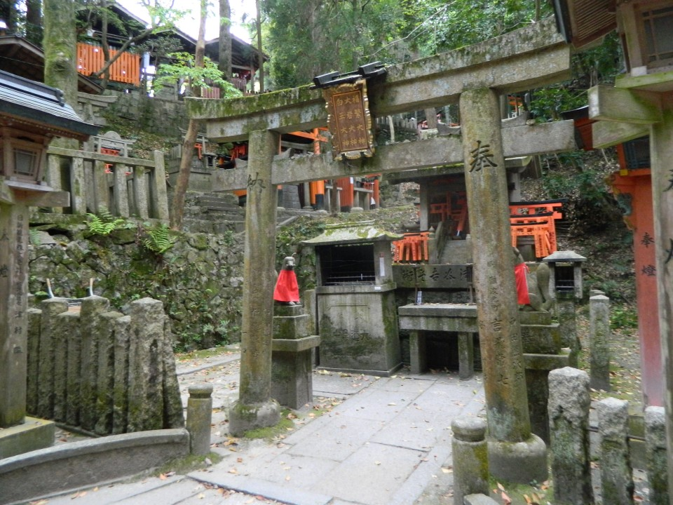 Tempio all'interno del percorso verso il Monte Inari