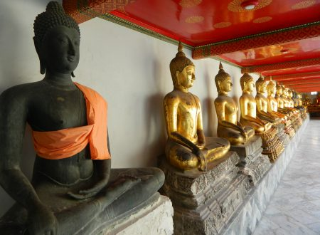 Wat Pho, arte Thai sulle rive del Chao Phraya